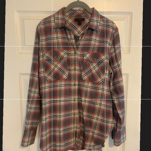 JCREW Flannel Buttondown